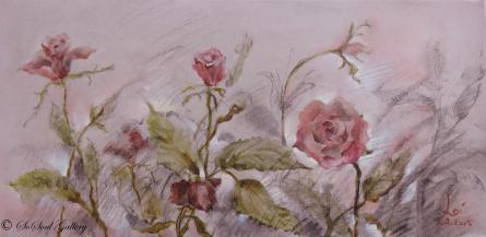Roses in Studio